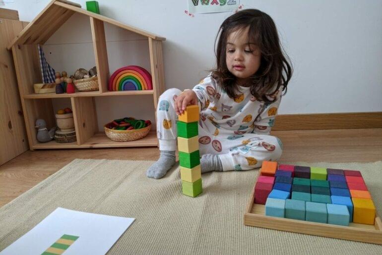 Atividade com cores e blocos 01