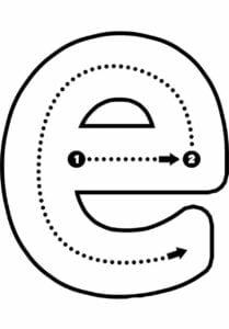 alfabeto pontilhado para imprimir e