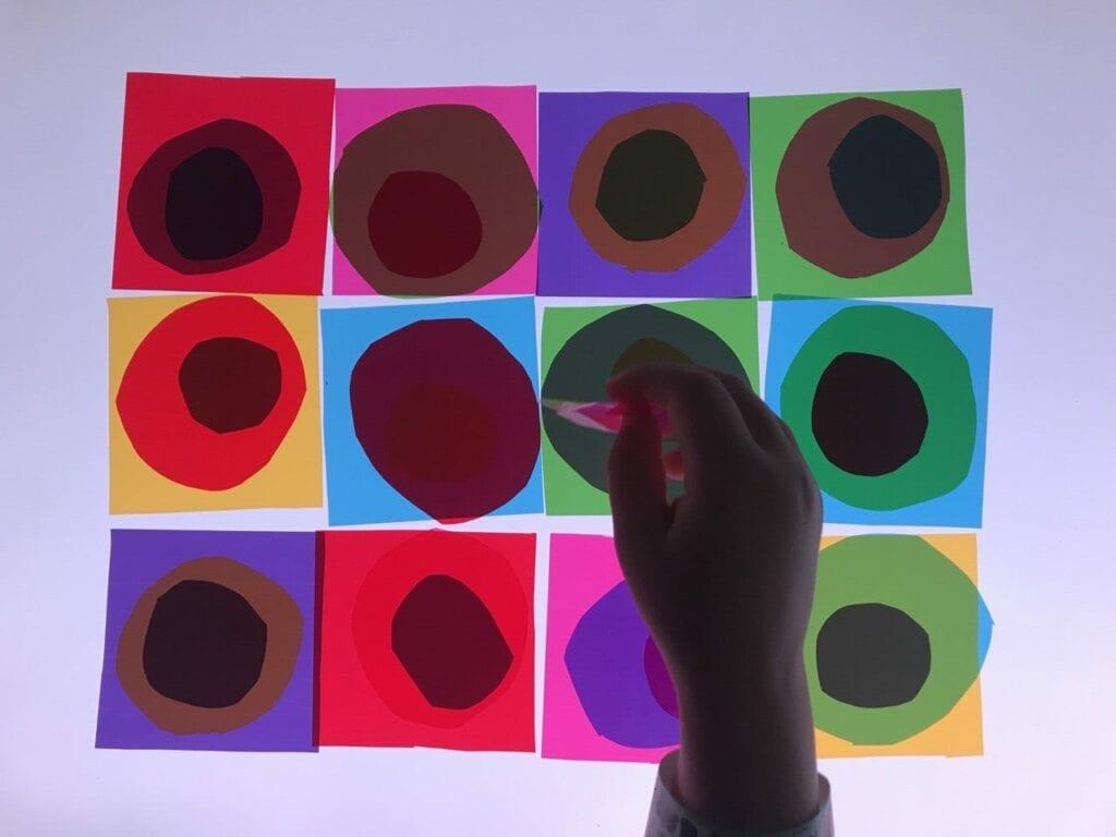 atividade de artes circulos concentricos de kandinsky 01