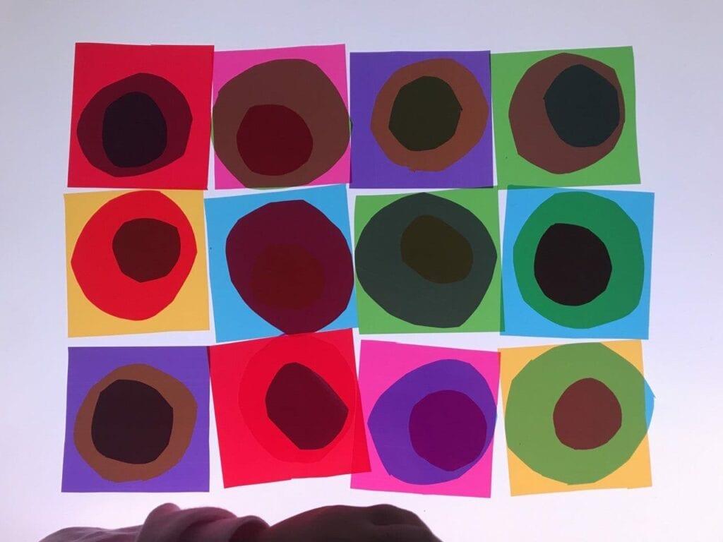 atividade de artes circulos concentricos de kandinsky 02