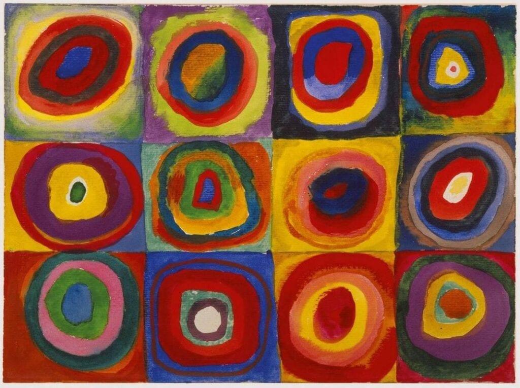 atividade de artes circulos concentricos de kandinsky 03