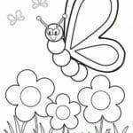 imagem da primavera para colorir