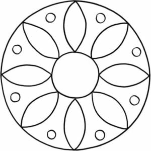 imagens de mandala para colorir