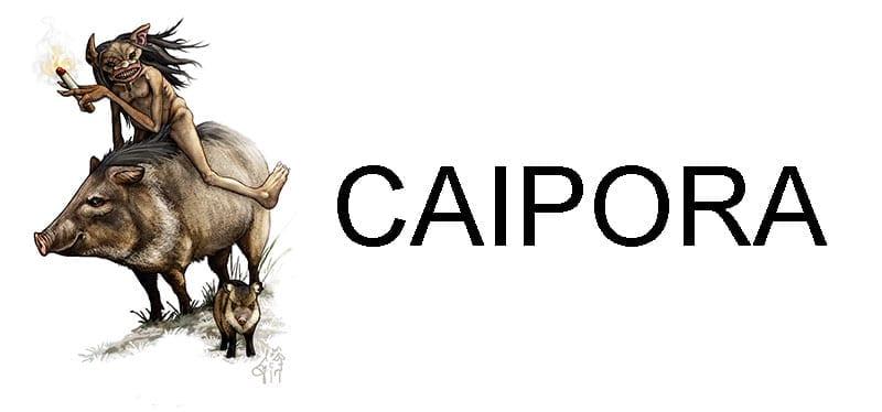 Lendas Indígenas Caipora