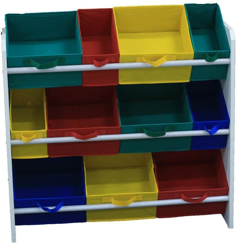 organizador de brinquedos ou estante de atividades 02