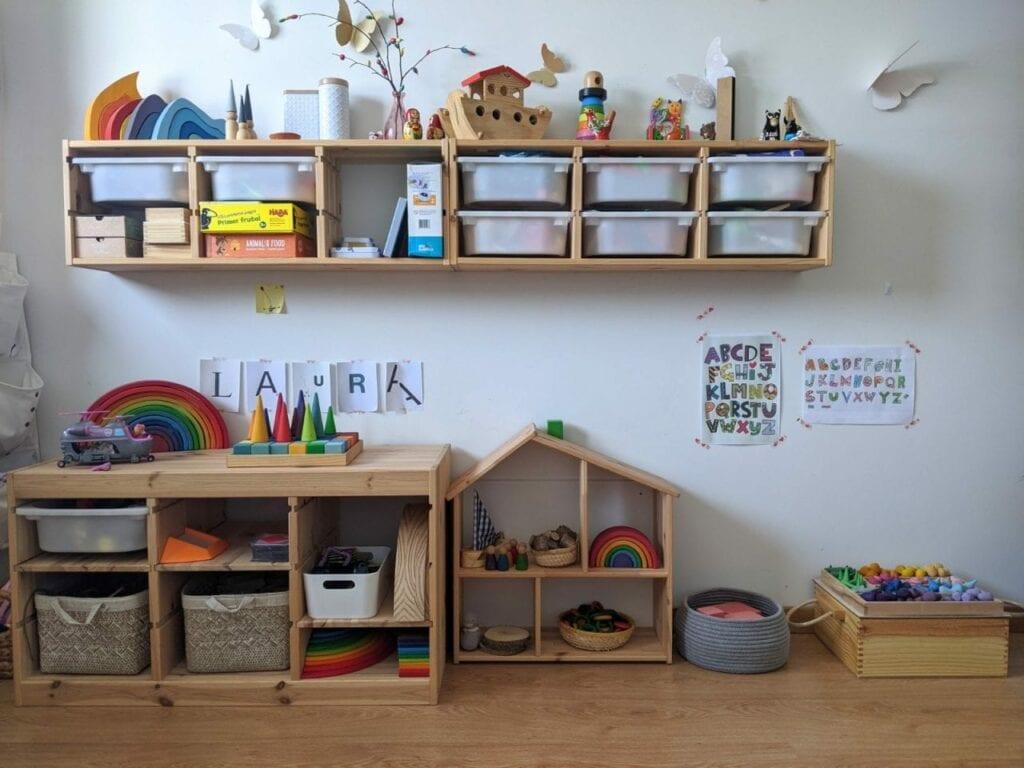 organizador de brinquedos ou estante de atividades 03