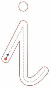 vogais minusculas pontilhadas para imprimir 03