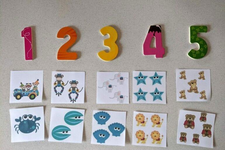 atividade sobre quantidade para educacao infantil