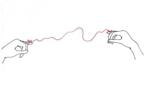 lenda chinesa do fio vermelho akai ito