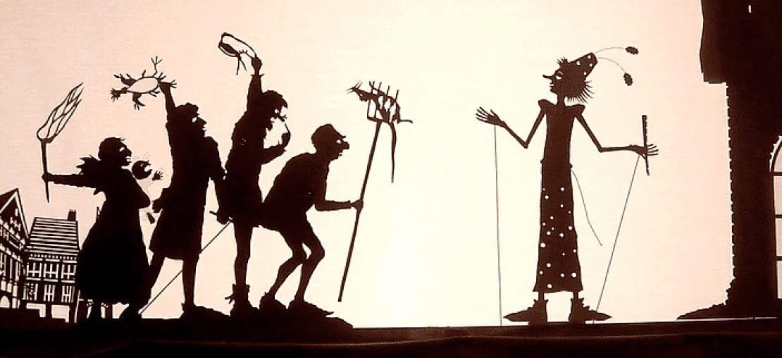 lenda chinesa sobre a origem do teatro de sombras