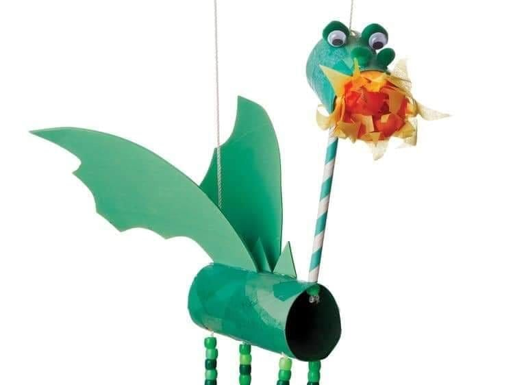 marionete de rolo de papel higienico 01