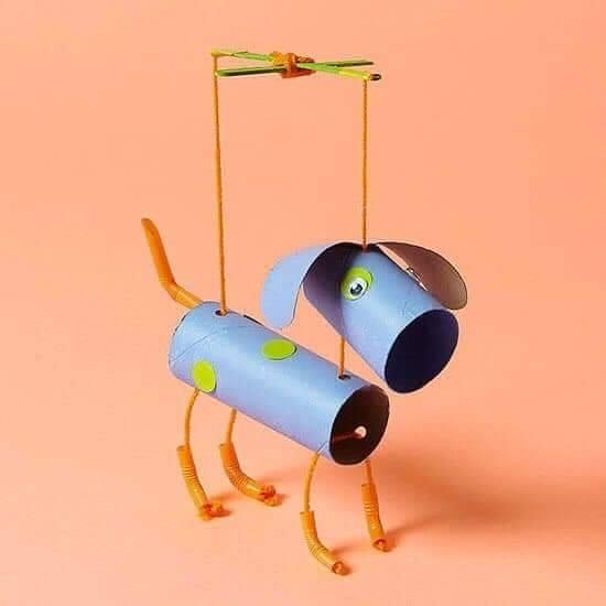 marionete de rolo de papel higienico 04