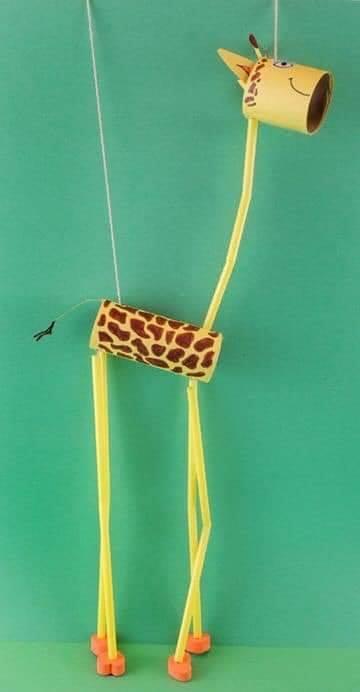 marionete de rolo de papel higienico 06