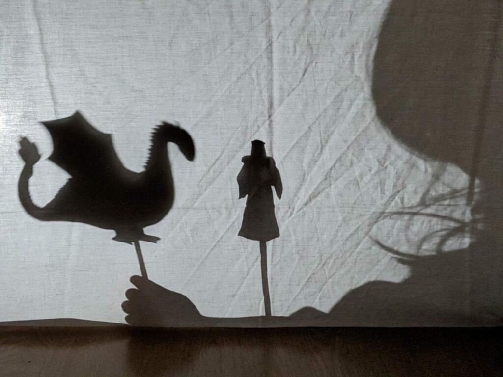 o dragao e a princesa teatro de sombras 01