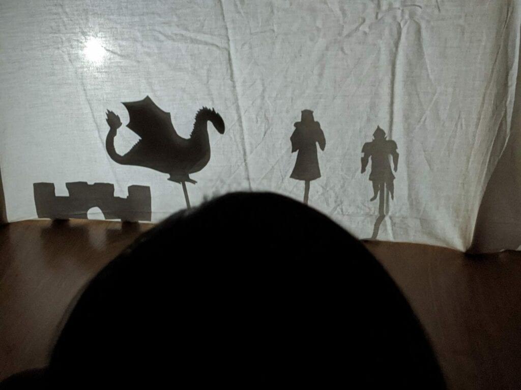 o dragao e a princesa teatro de sombras 06