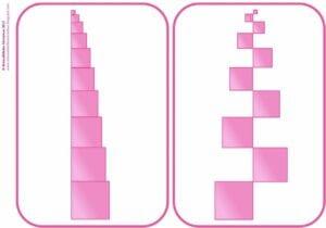 torre rosa montessoriana para imprimir 01