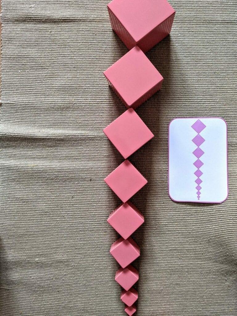 torre rosa montessoriana para imprimir 13