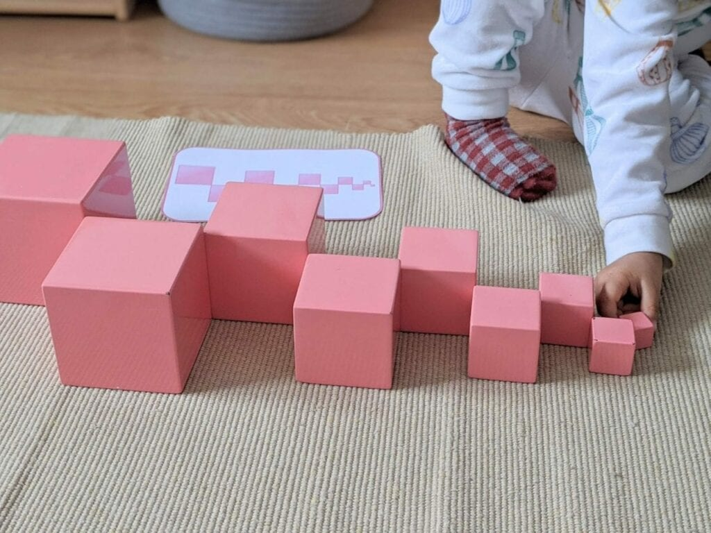 torre rosa montessoriana para imprimir 14