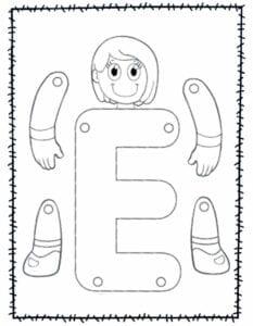 abecedario para recortar e montar e