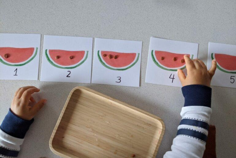 atividade de quantidade para educacao infantil
