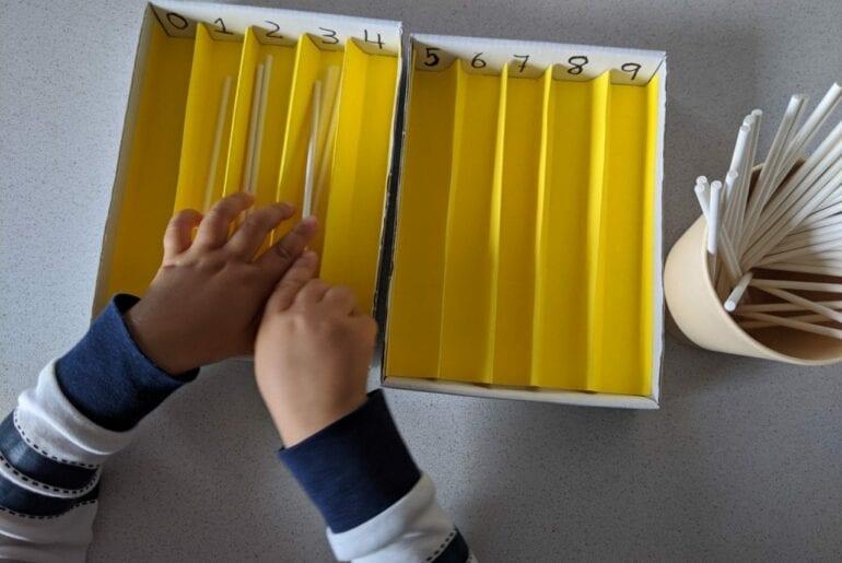 caixa de fusos montessori 05