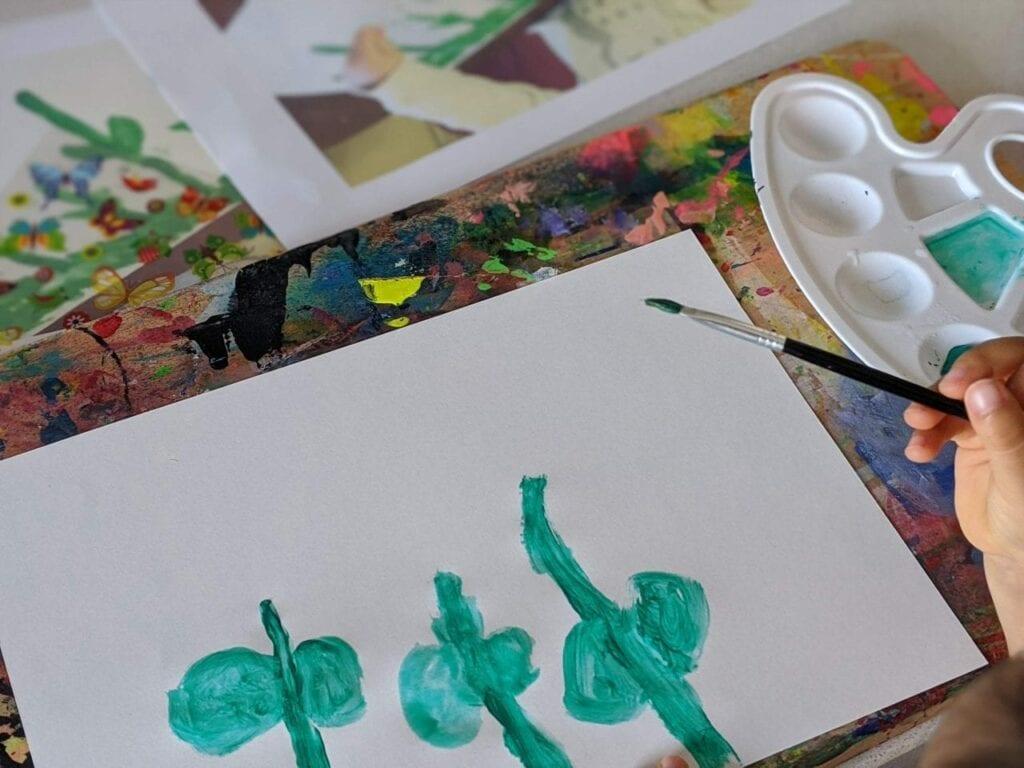 pintura com garfinho 02
