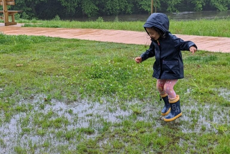 bota de chuva infantil