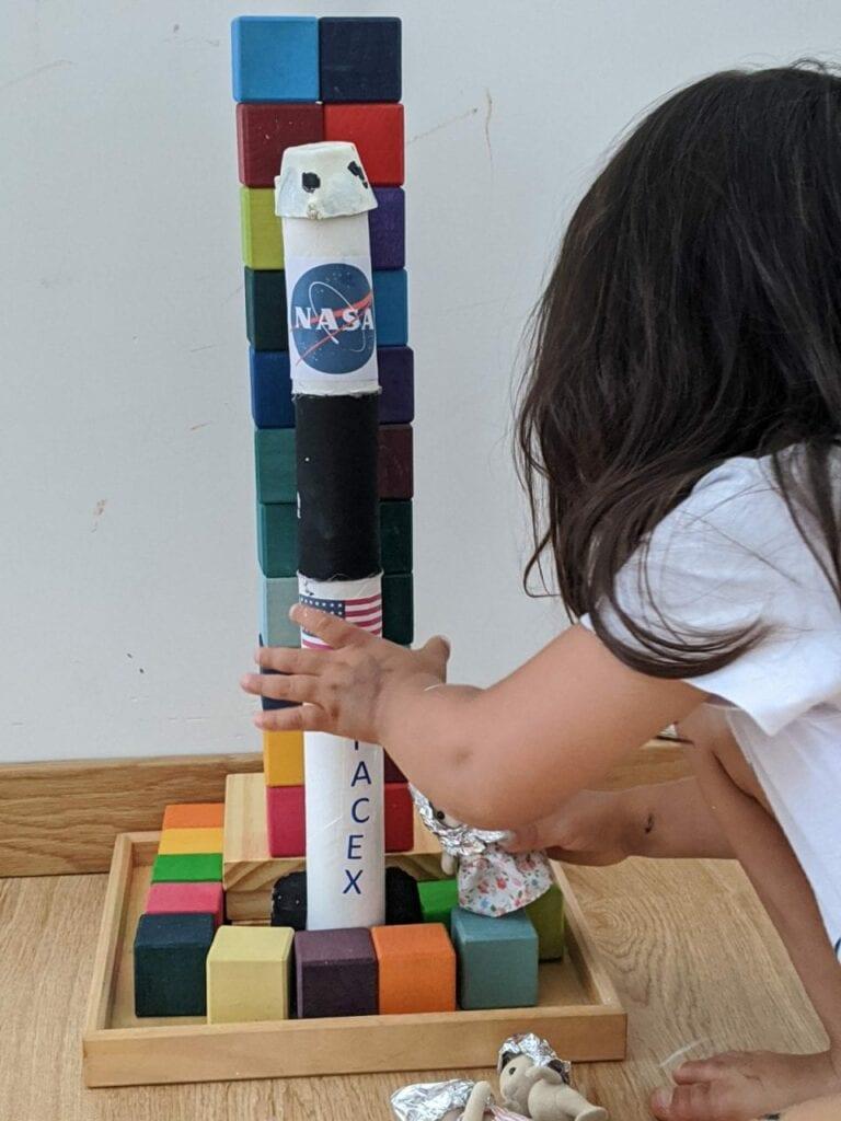 como fazer foguete espacial 04