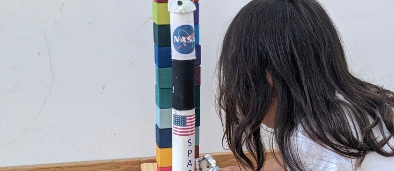 como fazer foguete espacial 06