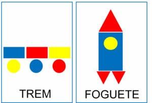 Atividade para criar figuras com blocos lógicos 04