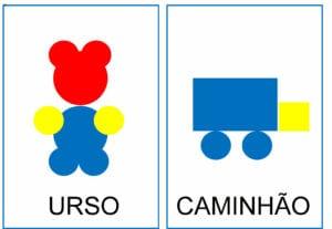 Atividade para criar figuras com blocos lógicos 06