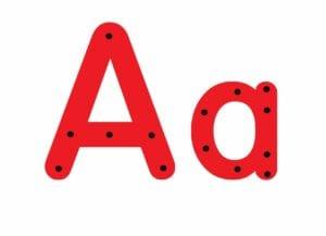 abecedario completo letra a 01
