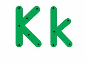 abecedario completo letra k