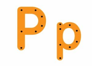 abecedario completo letra p