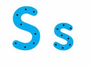 abecedario completo letra s