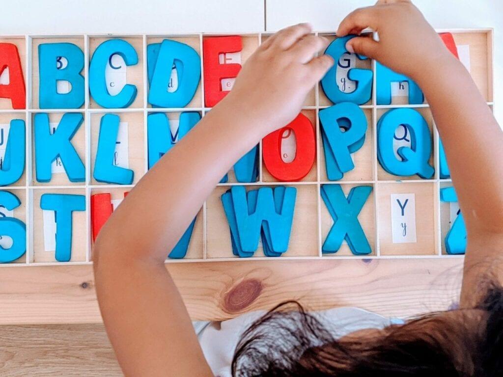 Atividade com alfabeto maiusculo 01