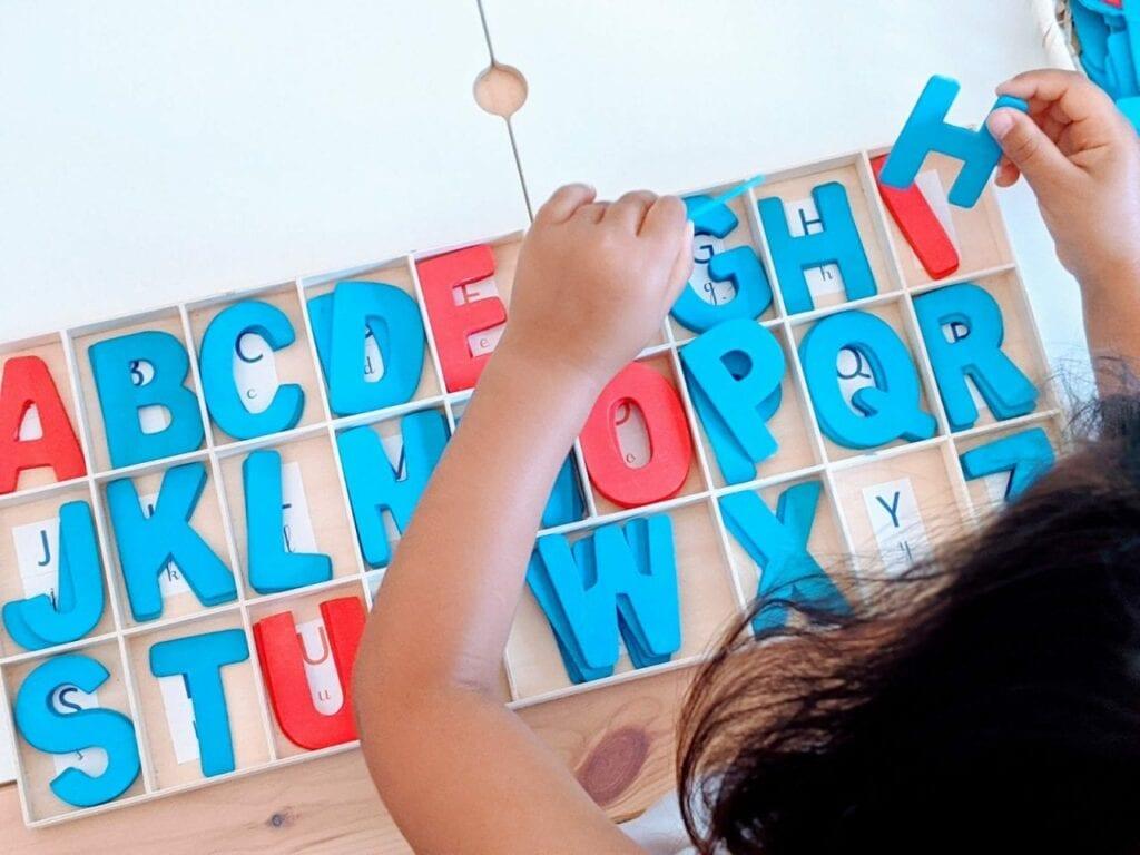 Atividade com alfabeto maiusculo 05