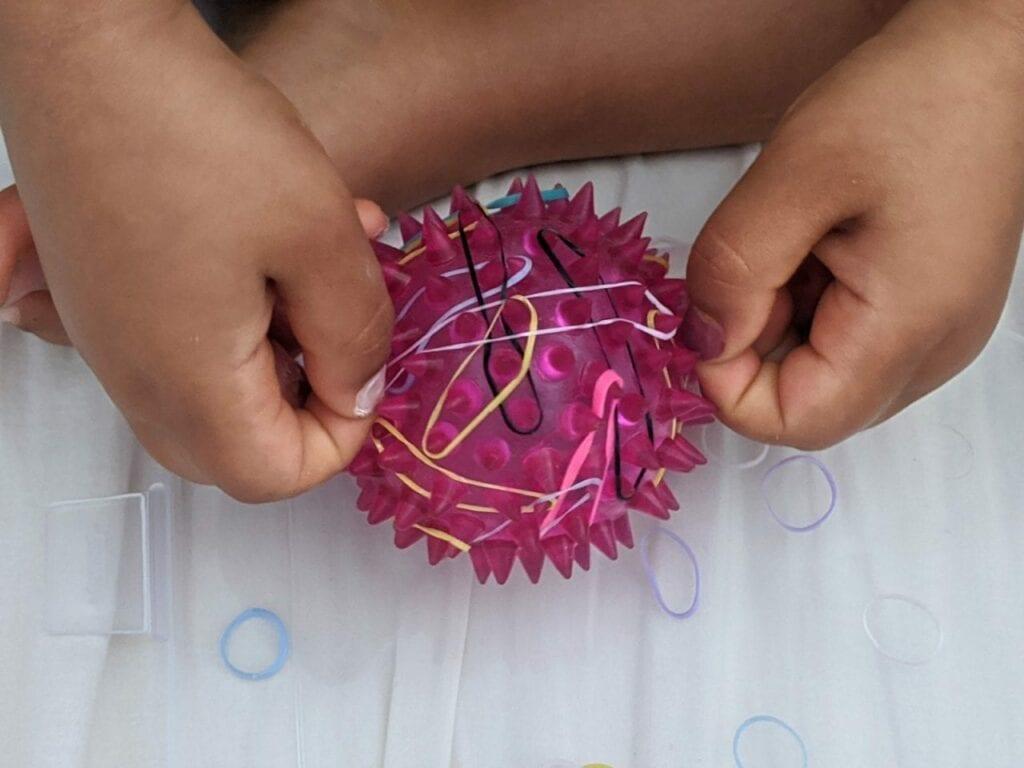 atividade com elastico para educacao infantil 01