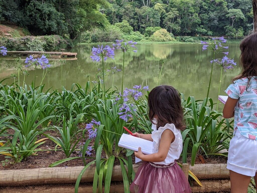 atividade de flor para educacao infantil
