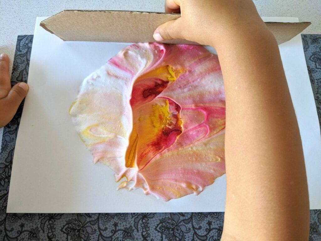 como fazer um sol de papel 09