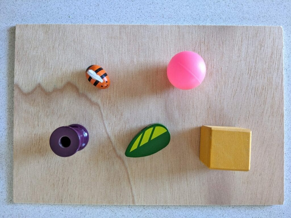 criar com cinco objetos 01