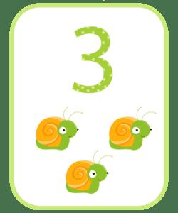 numeros e suas quantidades para imprimir 3