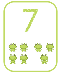 numeros e suas quantidades para imprimir 7