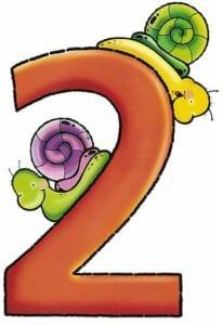numeros para imprimir colorido 2