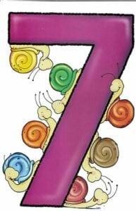 numeros para imprimir colorido 7