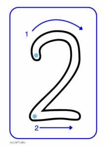 numeros para imprimir de 1 a 9 2