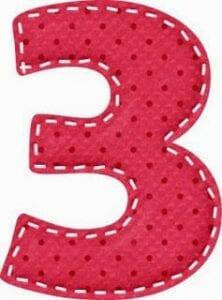 varal de numeros para imprimir 3