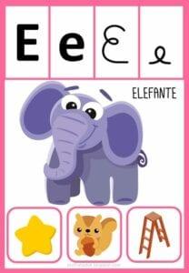 vogais com desenhos para imprimir e
