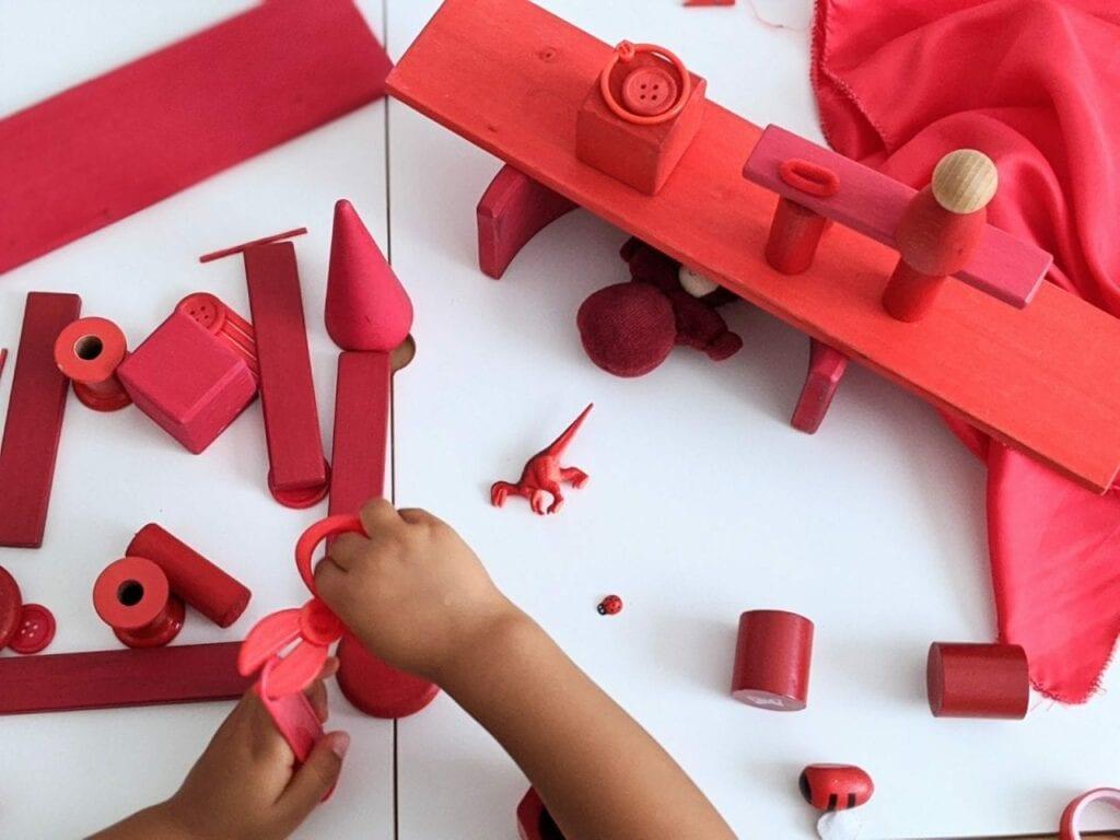 atividade com cor vermelha 02