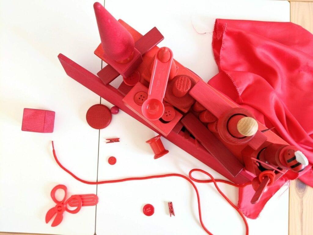 atividade com cor vermelha 09